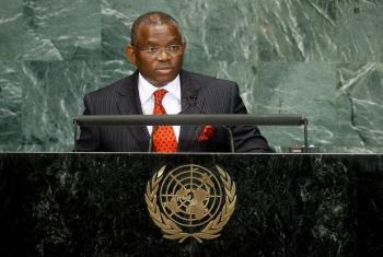 Gerges Chikoti promete papel ativo na busca da paz. Foto: ONU/Ky Chung.