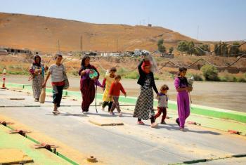 Famílias no Iraque. Foto: Unicef/Wathiq Khuzaie