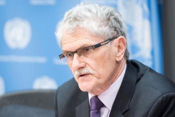 Mogens Lykketoft disse que ataque reforça determinação para encontrar e julgar os responsáveis. Foto: ONU/Mark Garten
