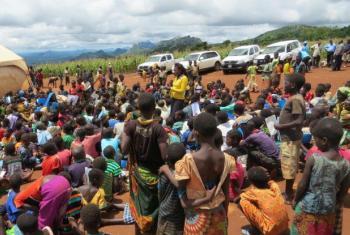 O campo de refugiados de Luwani abrigou refugiados moçambicanos durante a guerra civil de 1977 a 1992. Foto: Acnur