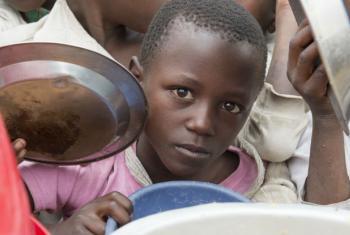 Mais de 500 mil crianças têm menos de cinco anos e sofrem de desnutrição. Foto: ONU/Eskinder Debebe
