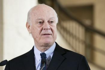 O enviado da ONU para a Síria, Staffan de Mistura. Foto: ONU/Anne-Laure Lechat