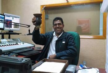 O radialista João Valdecir de Borba. Foto: Arquivo Rádio Difusora AM - 1490khz