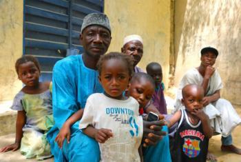 Assistência às famílias deslocadas na Nigéria. Foto:PMA/Adel Sarkozi