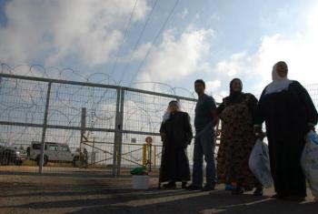 Civis na Cisjordânia. Foto: UNRWA/Isabel de la Cruz