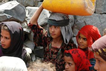População iemenita precisa de ajuda urgente. Foto: Ocha.