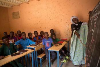 Crianças na escola no Mali. Foto: Unicef/Harandane Dicko