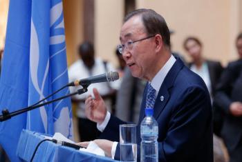O secretário-geral da ONU, Ban Ki-moon. Foto: ONU/Evan Schneider (arquivo)