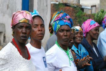 Mulheres angolanas. Foto: Pnud Angola