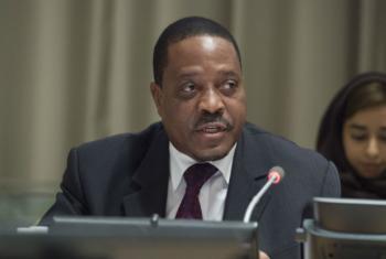 António Gumende. Foto: ONU/Eskinder Debebe