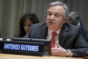 António Guterres. Foto: ONU/Rick Bajornas