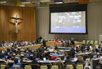 Evento na sede das Nações Unidas. Foto: ONU/Rick Bajornas