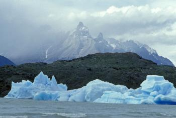 Geleiras no Chile. Foto: ONU/Curt Carnemark