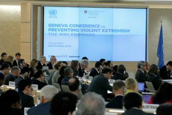 Encontro ocorre na sede da ONU em Genebra. Foto: ONU/Pierre Albouy