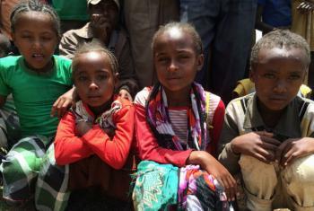 Crianças etíopes. Foto: Banco Mundial/Natalia Cieslik