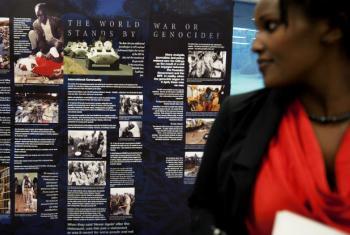 Dia Internacional de Reflexão sobre o Genocídio em Ruanda.Foto: ONU/Jean-Marc Ferré