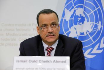 Ismail Ould Cheikh Ahmed, enviado especial das Nações Unidas para o Iémen. Foto: ONU/Elma Ocik