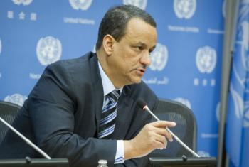 Ismail Ould Cheikh Ahmed. Foto: ONU/Loey Felipe