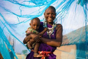Combate à malária. Foto: Unicef/Hallahan