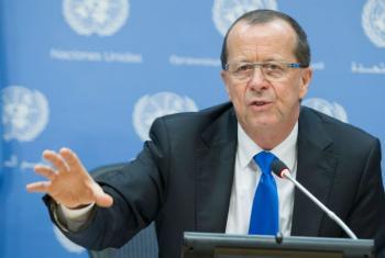 O representante especial do secretário-geral da ONU para a Líbia, Martin Kobler. Foto: ONU/Manuel Elías