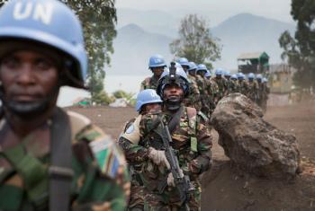 Boina-azuis caíram numa emboscada criada por um grupo armado na província de Kivu Sul. Foto: Monusco/Sylvain Liechti