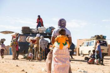 """William Lacy swing defende que migração não é um problema mais um """"desafio e solução"""". Foto: OIM"""