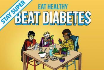Combate a Diabetes. Imagem: OMS