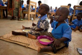 A iniciativa Fome Zero foi anunciada pelo secretário-geral das Nações Unidas, Ban Ki-moon, em 2012.Foto: PMA