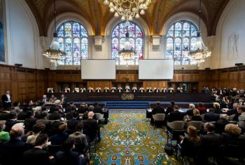 Tribunal Penal Internacional. Foto: ONU/ICJ-CIJ