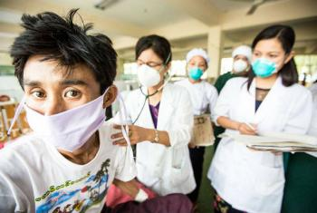 Combate à Sida, Tuberculose e Malária. Foto: Fundo Global
