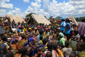 Moçambicanos no Malaui. Foto: Acnur/V.Selin