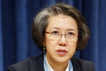 Relatora especial da ONU em Mianmar, Yanghee Lee. Foto: ONU/JC McIlwaine