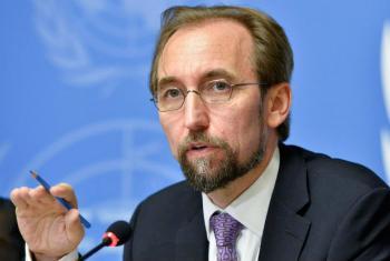 Alto comissário da ONU para os Direitos Humanos, Zeid Al Hussein. Foto: ONU/Jean-Marc Ferré
