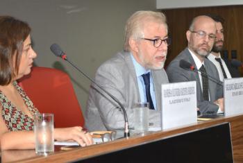 Vanessa Berner, Giancarlo Summa e Aexandre Tolipan. Foto: UNIC Rio / Pedro Andrade