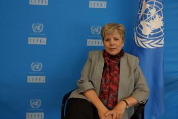 Secretária-executiva da Cepal, Alicia Bárcena. Foto:CINU México