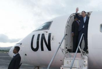 Ban Ki-moon viajará para Havana nesta quarta-feira. Foto: ONU/Mark Garten (arquivo)