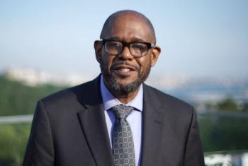 O enviado especial da UnescoForest Whitaker. Foto: Reprodução vídeo