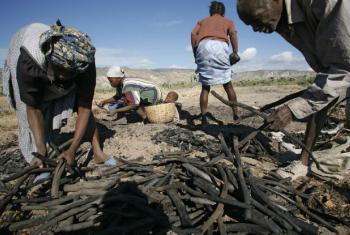 Seca no Haiti. Foto: Unicef/UNI43567/LeMoyne (arquivo)