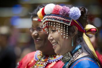 Fórum Permanente das Nações Unidas sobre Questões Indígenas.Foto: ONU/Manuel Elias