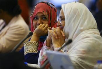 Parte dos 2 mil participantes que analisaram o desempenho dos países menos desenvolvidos. Foto: Unohrlls.