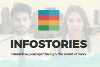 Nova página da OIT quer investir em narrativas e linguagens simples.Imagem: OIT