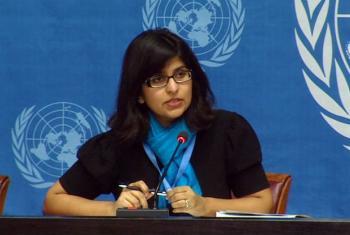 Ravina Shamdasani. Imagem: ONU