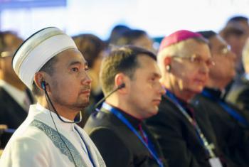 Congresso de Líderes de Religiões Mundiais e Tradicionais, em Almaty, no Cazaquistão. Foto: ONU/Rick Bajornas