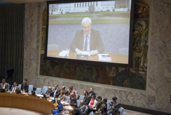 """Stephen O'Brien considerou """"chocantes"""" os números das vítimas do conflito sírio. Foto: ONU//Loey Felipe."""