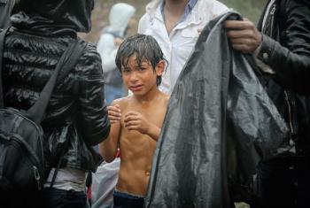 Refugiados sírios. Foto: OIM