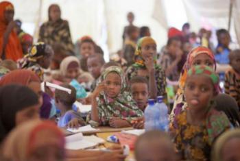 Crianças refugiadas têm cinco vezes mais chances de ficarem fora das escolas do que as que não estão nesta situação.Foto: Acnur