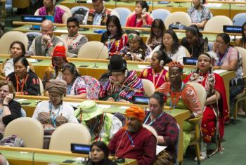 Fórum Permanente da ONU sobre Questões Indígenas.Foto: ONU/Rick Bajornas
