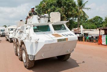Tropas da ONU na República Centro-Africana. Foto: ONU/Catianne Tijerina