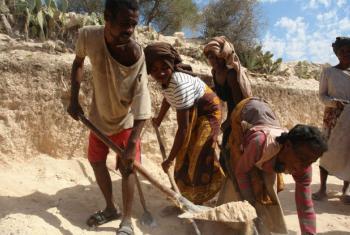 O sul de Madagáscar foi atingido duramente pelo fenómeno climático El Niño este ano.Foto: PMA/Volana Rarivoson