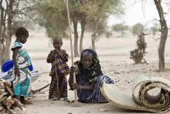 Refugiada nigeriana em campo de refugiados na regiãon de Diffa. Foto: Acnur/Hélène Caux